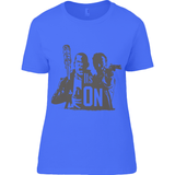 The Walking Dead Rick vs Negan - Anvil Ladies Basic T-Shirt - Movie TV Show Merch