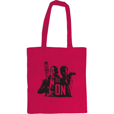 The Walking Dead Rick vs Negan - Westford Mill Promo Shoulder Tote Bag - Movie TV Show Merch