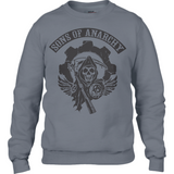 Sons of Anarchy bl - Anvil Sweatshirt - Movie TV Show Merch