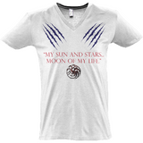 Game of Thrones - My Sun and Stars - Sol's Master V-Neck T-Shirt - Movie TV Show Merch