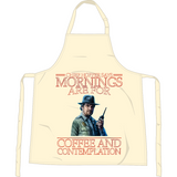 Stranger Things - Mornings are for - Apron - Movie TV Show Merch