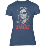 Escape From New York - Call Me Snake - Anvil Ladies Fashion Fitted T-Shirt - Movie TV Show Merch