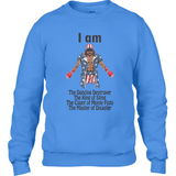 Rocky - Apollo Creed King of Sting Anvil Fashion Shoulder Sweatshirt - Movie TV Show Merch