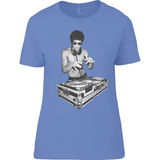 Bruce Lee DJ - Anvil Ladies T-Shirt - Movie TV Show Merch