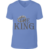 For Him Bl King - Anvil Fashion V Neck T-Shirt - Movie TV Show Merch