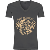 Sons of Anarchy - EP03V V-Neck Men's T-Shirt - Movie TV Show Merch