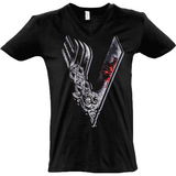 Vikings Tv Show - Sol's Master V-Neck T-Shirt - Movie TV Show Merch