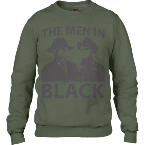 Westworld Men in Black - Anvil Sweatshirt - Movie TV Show Merch