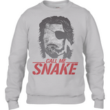 Escape from New York - Snake Plissken - Anvil Fashion Drop Shoulder Sweatshirt - Movie TV Show Merch