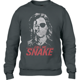 Escape From New York - Call Me Snake - Anvil Fashion Sweatshirt - Movie TV Show Merch