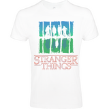 Stranger Things Upside Down - Sol's Imperial FIT T-Shirt - Movie TV Show Merch
