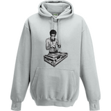 Bruce Lee DJ - AWDis Street Hoodie - Movie TV Show Merch