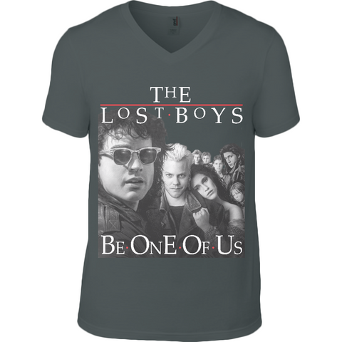 The Lost Boys Be One of Us - Anvil Fashion Basic V Neck T-Shirt - Movie TV Show Merch