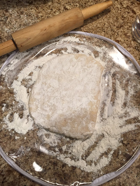 Pie Crust Bag - For Making the Best Homemade Pies Ever! - Thompson Street Farm LLC, microgreens,