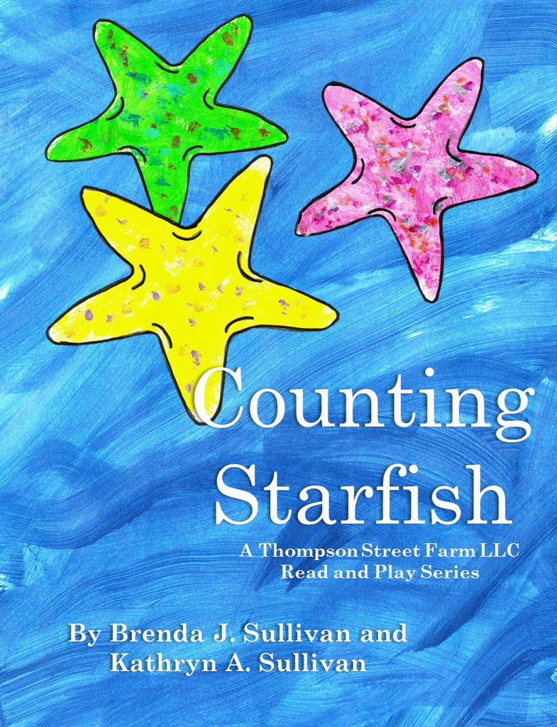 Counting Starfish Early Reader And Coloring Book Combo