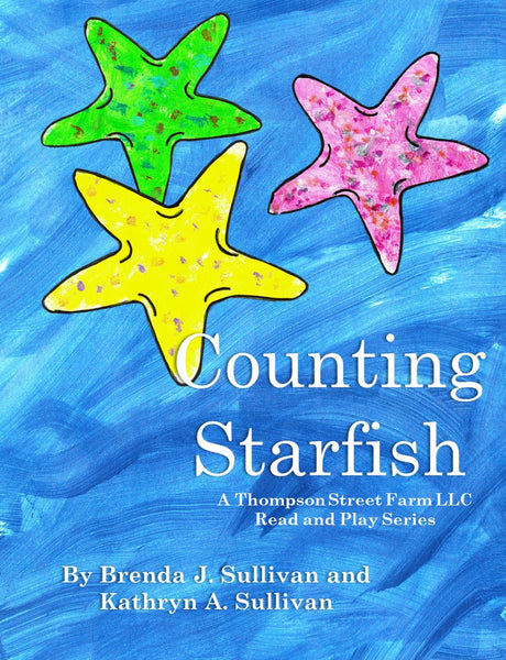 Counting Starfish Early Reader and Coloring Book Combo - Thompson Street Farm LLC, microgreens,