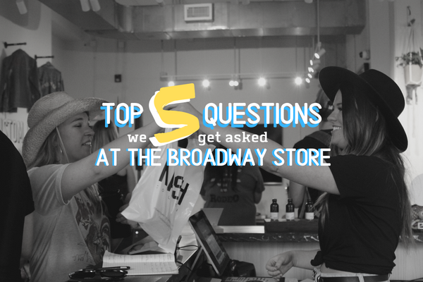 Top 5 Questions From Customers