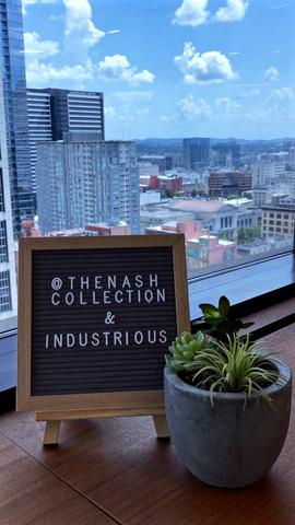 INDUSTRIOUS X THE NASH COLLECTION
