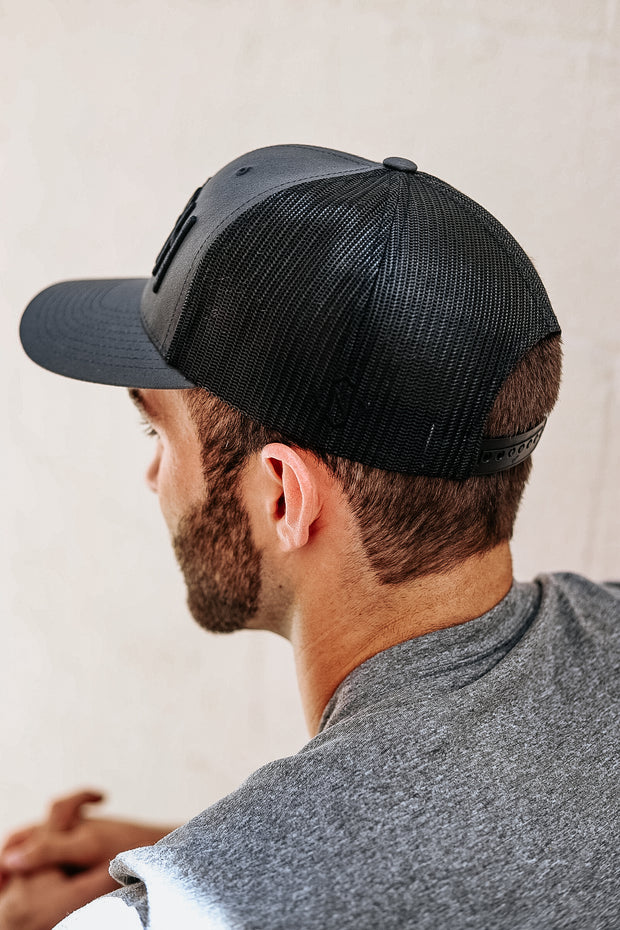Two-Tone Charcoal/Black SMASH Classic Trucker
