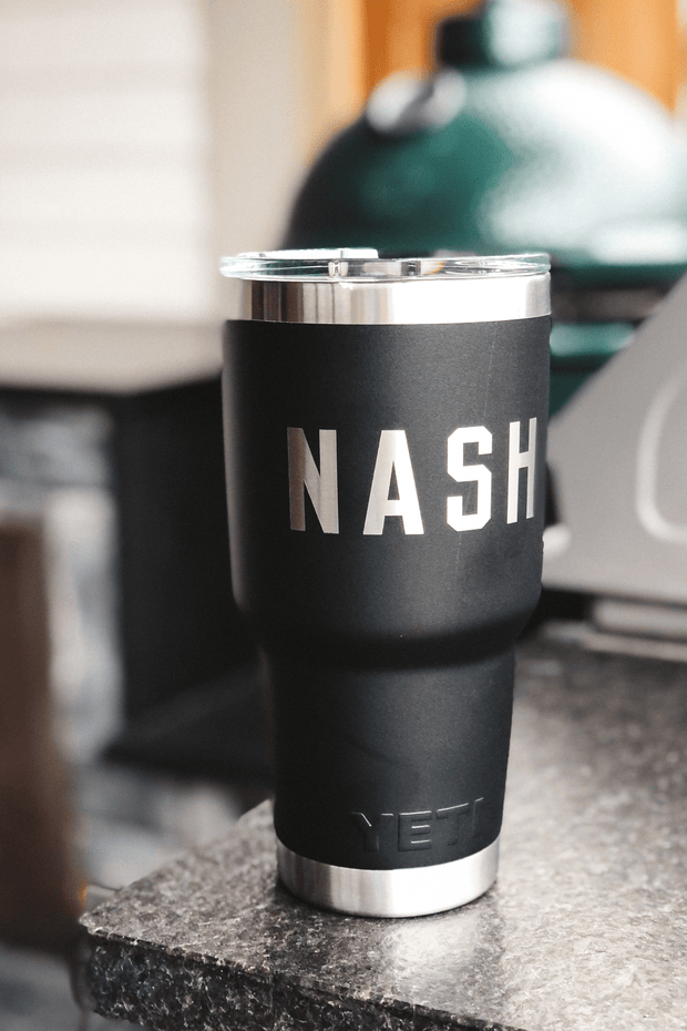 NASH x Yeti 30oz Rambler [Black]