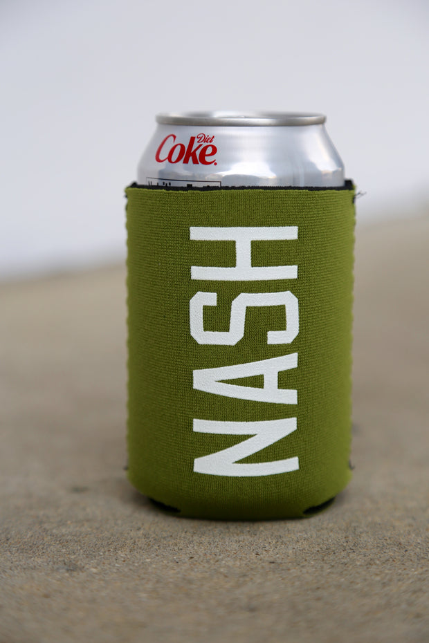 NASH Can Cooler [Army Green/White]