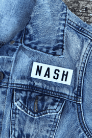NASH Patch [White]