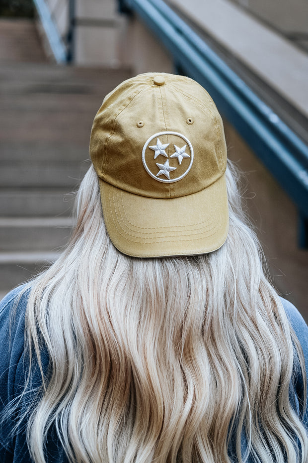 Vintage Gold TriStar Original Ball Cap
