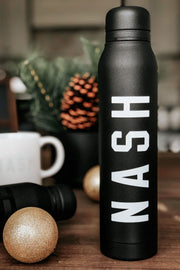 NASH Thermos [Black/White]