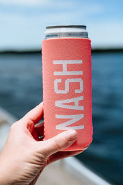 NASH Slim Can Cooler [Coral]