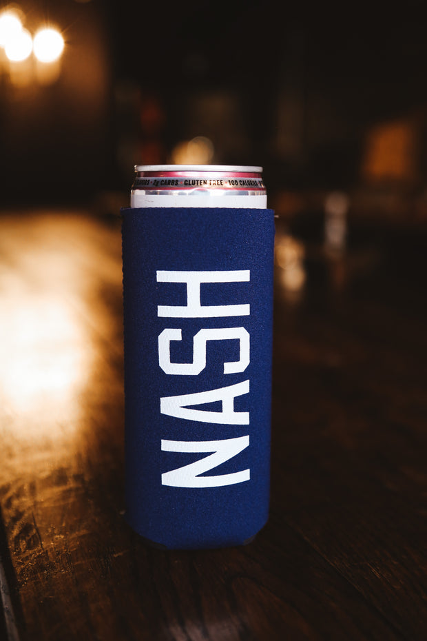 NASH Slim Can Cooler [Navy]