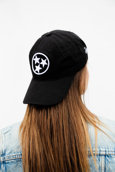 Black Tri-Star Original Ball Cap