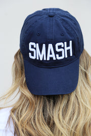 Navy/White SMASH Ball Cap