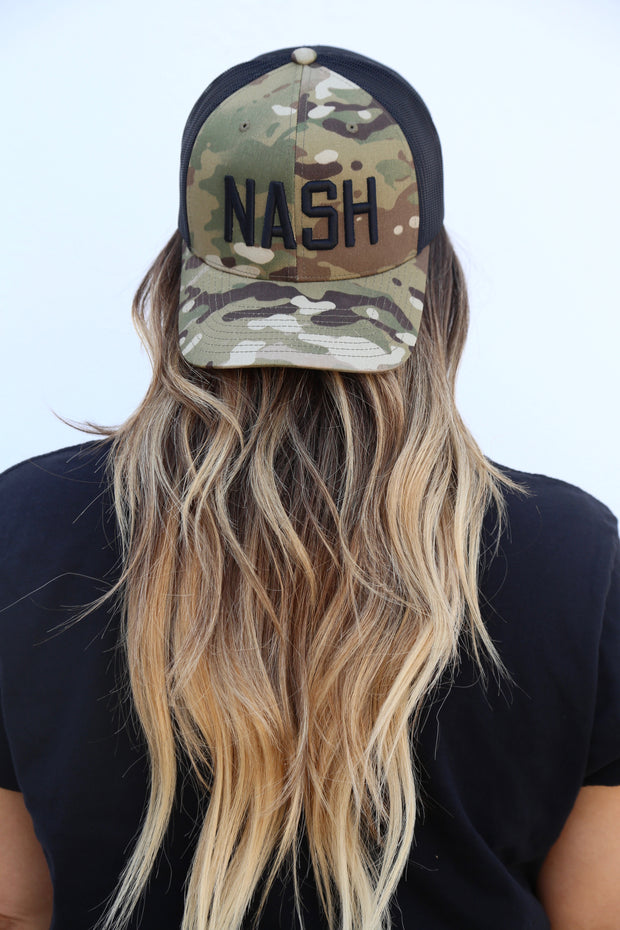 NASH Multi-Cam Trucker [Green]