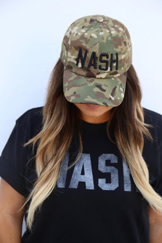 NASH Multicam Ball Cap [Green]