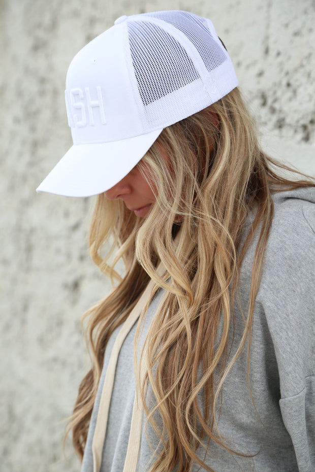 White Out NASH Classic Trucker - The Nash Collection Hat