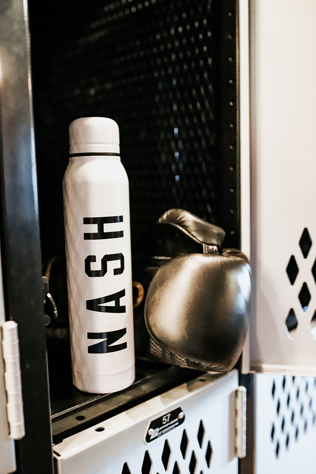 NASH Thermos [White/Black]