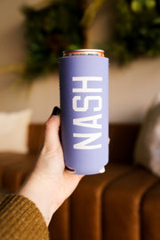 Periwinkle Slim Can Cooler