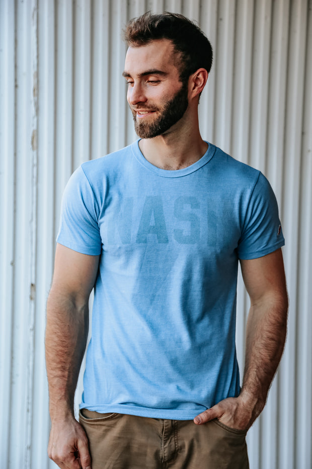 Men's Soft Jersey Tee [True Blue]