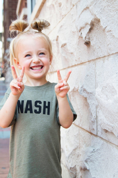 Youth NASH Favorite Tee [Olive]
