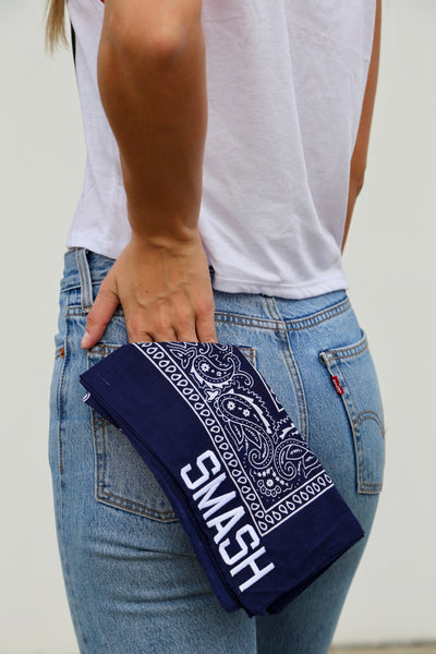 Navy SMASH Bandana