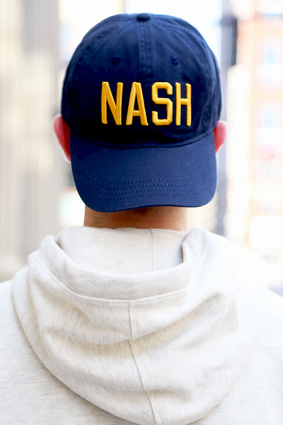 Navy/Gold NASH Ball Cap