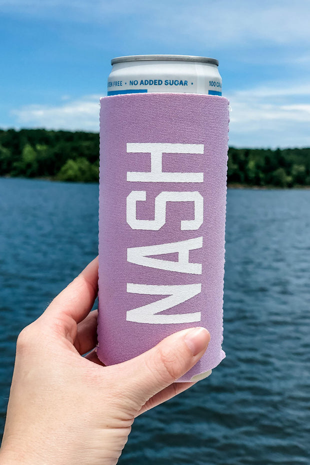 NASH Slim Can Cooler [Lilac]