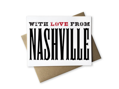 With Love From Nashville Card