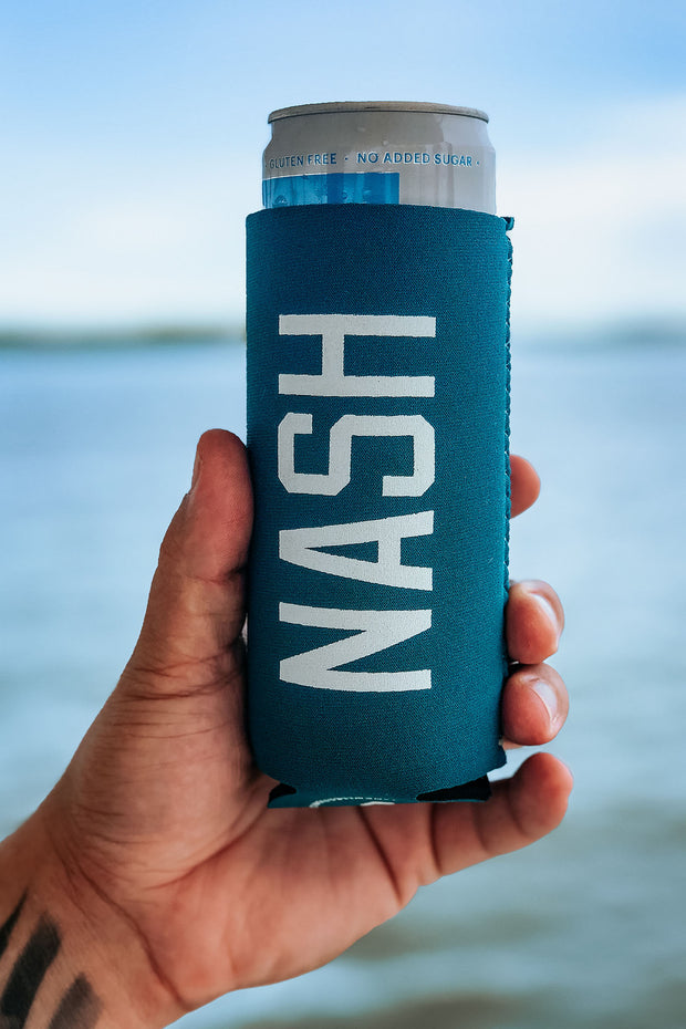 NASH Slim Can Cooler [Spruce]