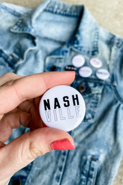 Stacked Nashville Button