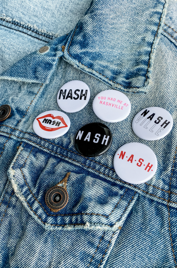 You Had Me At Nashville Button