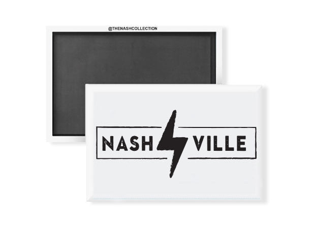 Nashville Lighting Bolt Magnet