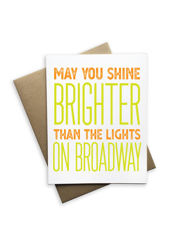 May You Shine Brighter Card