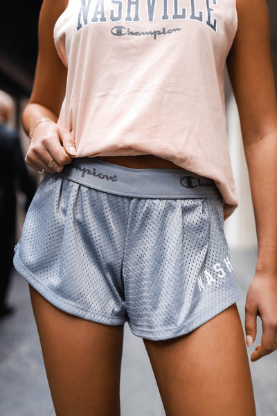 Champion Mesh Short [Gray]