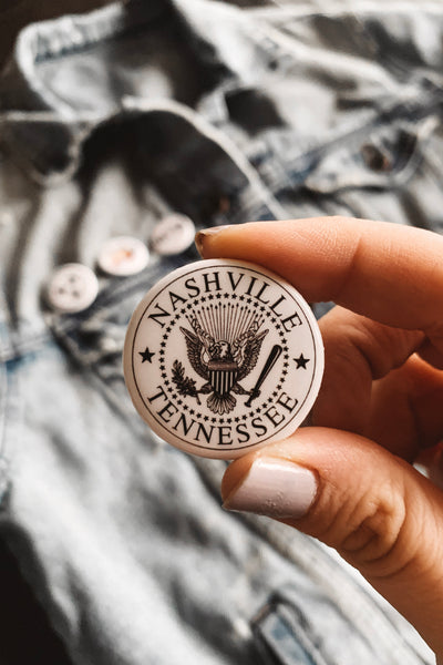 Nashville Seal Button